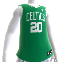 Maillot NBA2K12 Boston Celtics