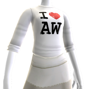 I love Alan Wake shirt - Female