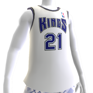 Camiseta Retro NBA 2K13 Kings 01-02