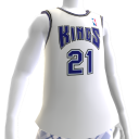 Camiseta NBA 2K13 Kings 01-02 Retro