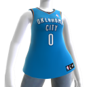Maillot NBA2K11 Oklahoma City Thunder