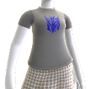 Decepticons Blue Logo T-Shirt