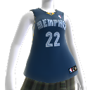Memphis Grizzlies NBA2K10-Trikot