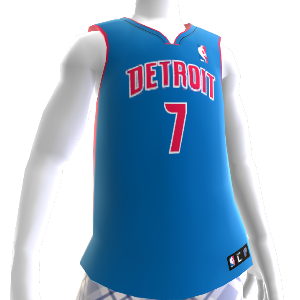 Detriot Pistons NBA2K12-trui