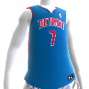 Maillot NBA2K12 Detroit Pistons