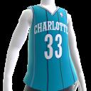 Hornets 92-93 Retro NBA 2K14 Jersey