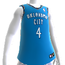 Oklahoma City Thunder NBA2K12 Jersey