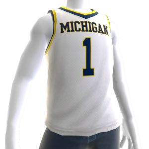 Michigan Basketball Home Jersey