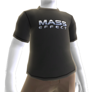 T-shirt avec logo Mass Effect