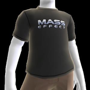 Camiseta con el logotipo de Mass Effect