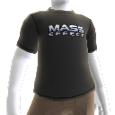 Camiseta con el logotipo de Mass Effect