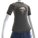 Warlords Grey  Skull Tee
