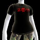 Camiseta del Augurio carmesí