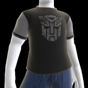 T-shirt grigia con logo Autobot
