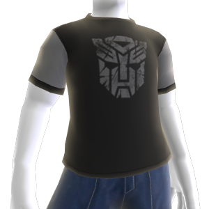 Autobots Grey Logo T-Shirt