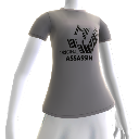 "Hitman: Absolution Camiseta Preta ""Original Assassin"""