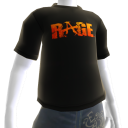 T-shirt RAGE noir