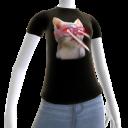 Epic Laser Cat 3 Black T-Shirt