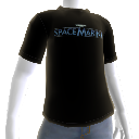 Space Marine-shirt met logo 