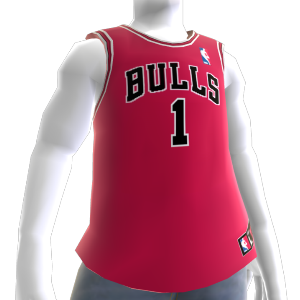Chicago Bulls NBA2K10 Jersey