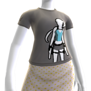 Lara T-Shirt Avatar-Element