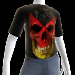 3d Germany Soccer Skull Shirt