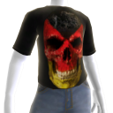 3d Germany Soccer Skull Shirt