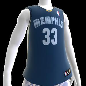 Camiseta NBA 2K13 Memphis Grizzlies