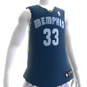 Camiseta NBA 2K13 Memphis Grizzlies