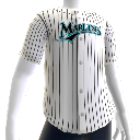 Jersey Florida Marlins MLB2K11 