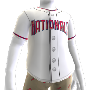 Washington Nationals MLB2K10 Jersey
