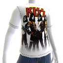 KISS White Tee