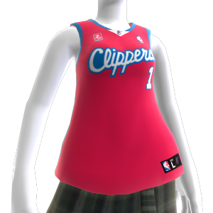 Los Angeles Clippers NBA2K10-Trikot