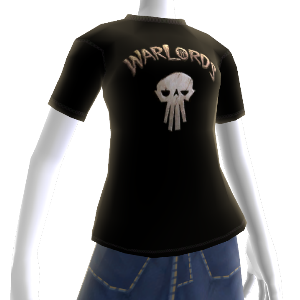 Warlords Black Skull Tee