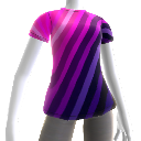 Camiseta neon do Dance Central 3