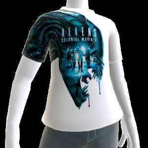 Camiseta de xenomorfo