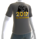2017 Year of Gaming Gray Tee