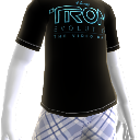 T-shirt com logtipo TRON