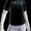 Camiseta con logotipo de TRON