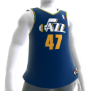 Utah Jazz NBA2K11-Trikot 