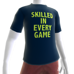 Epic Skilled In Every Game Shirt