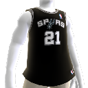 San Antonio Spurs NBA2K10-Trikot