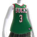 Colete NBA2K10: Milwaukee Bucks