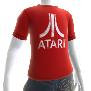 Red Atari Logo Shirt
