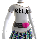 Relax' Tee, Belt and Necklaces