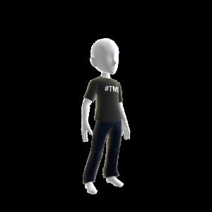 TMI Graphic T-shirt Black