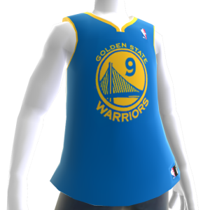 Golden State Warriors NBA 2K14 Jersey