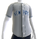 New York Yankees MLB2K11-Trikot 