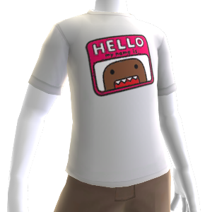 Hello My Name Is Domo Shirt