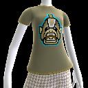 Camiseta de orco de 8 bits